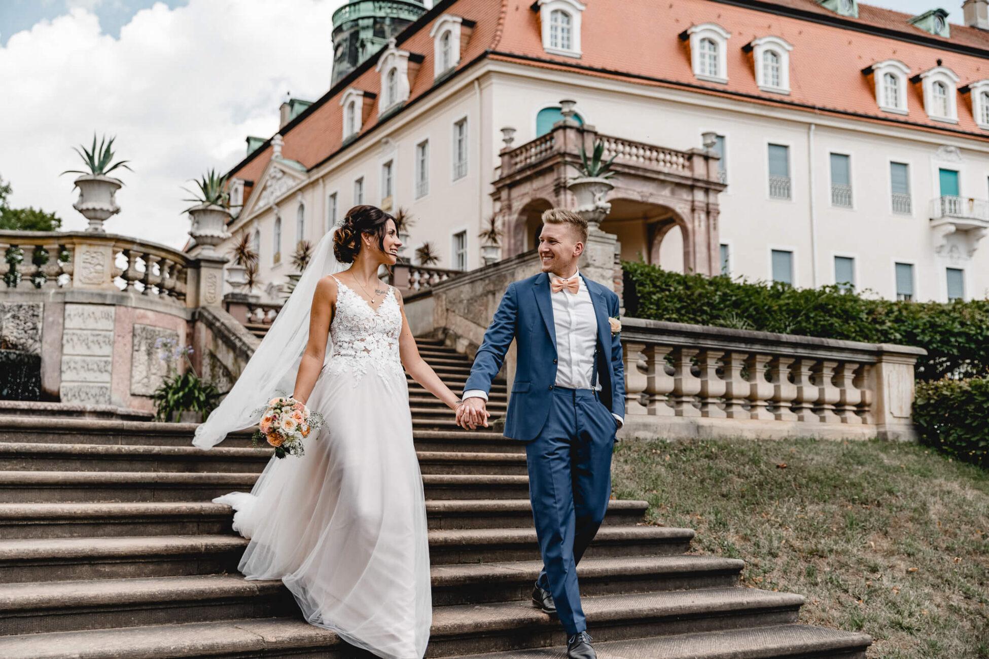 Trauung Brautpaarshooting Schloss Lichtenwalde