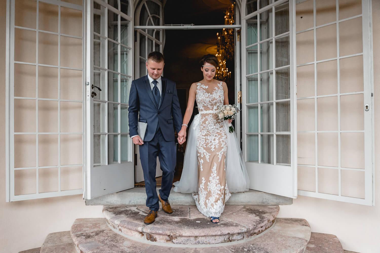 Hochzeit Schloss Lichtenwalde Trauung heiraten