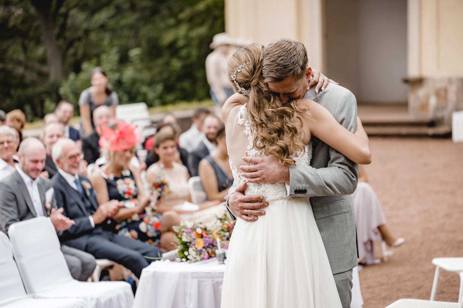 Hochzeit Trauung Schlosspark Lichtenwalde